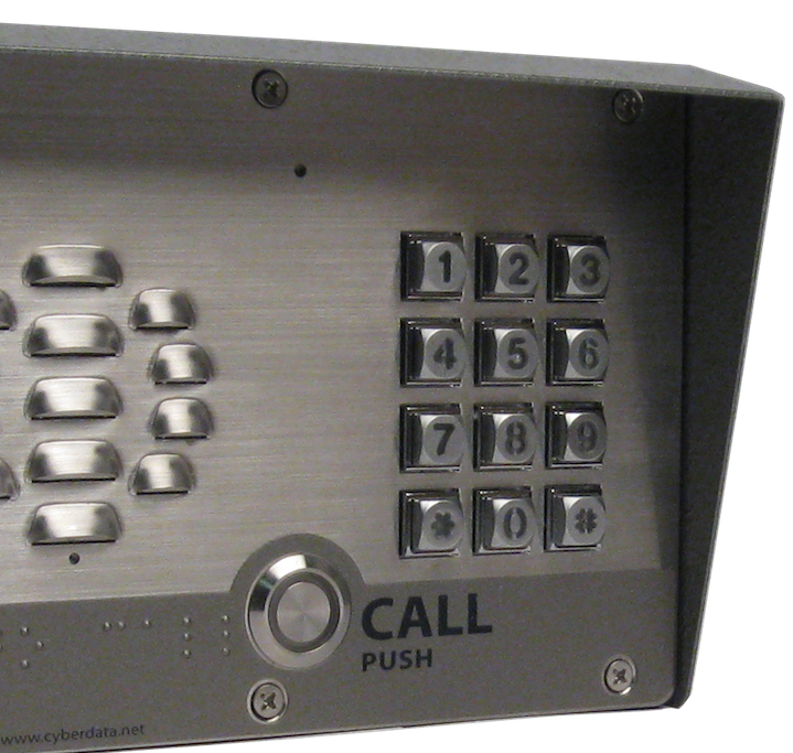 SIP-enabled IP Outdoor Intercom