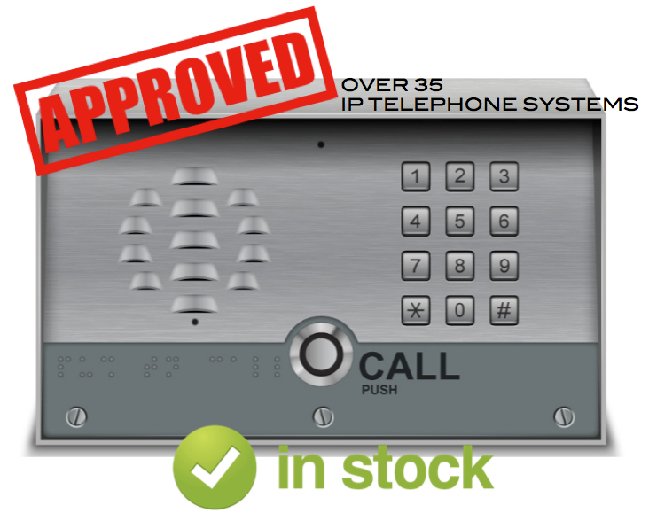 SIP-enabled VoIP Door + Barrier Phone – Integrates + Dials Into the Phone Network