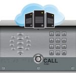 main image of the hosted voip door phone