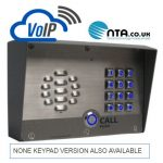 image showing the cloud ip pbx and the outdoor intercom