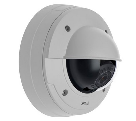 Dome camera Axis IP intercom image