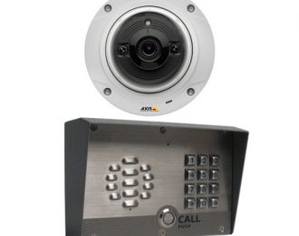 Site Entry Outdoor Voip Intercom For Access Control