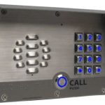 image of the cyberdata 011214 sip intercom
