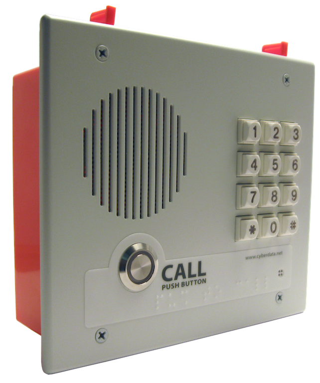 image of the keypad indoor intercom