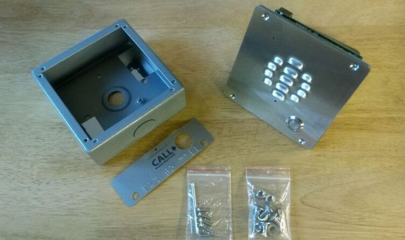 image of the SIP and VoIP gate intercom