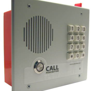 image of the broadsoft indoor sip intercoms